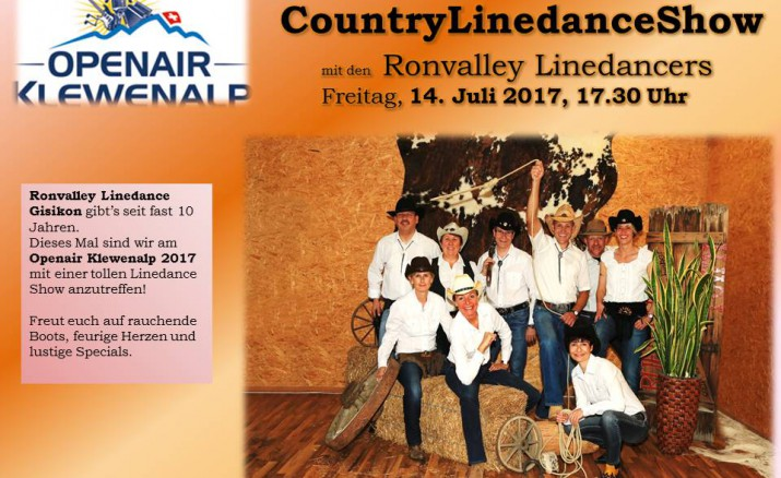 Country Linedance Show Klewenalp Ronvalley Linedance