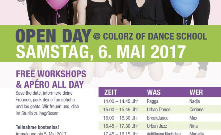 Open Day @ Colorz of Dance School