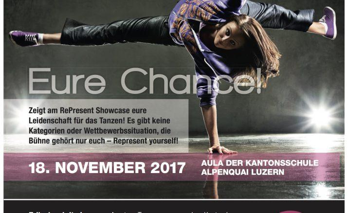 RePresent – dance your way –  Anmeldung