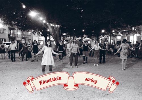 Lindy Hop tanzen mit der Band Swivel along feat. Belmondo
