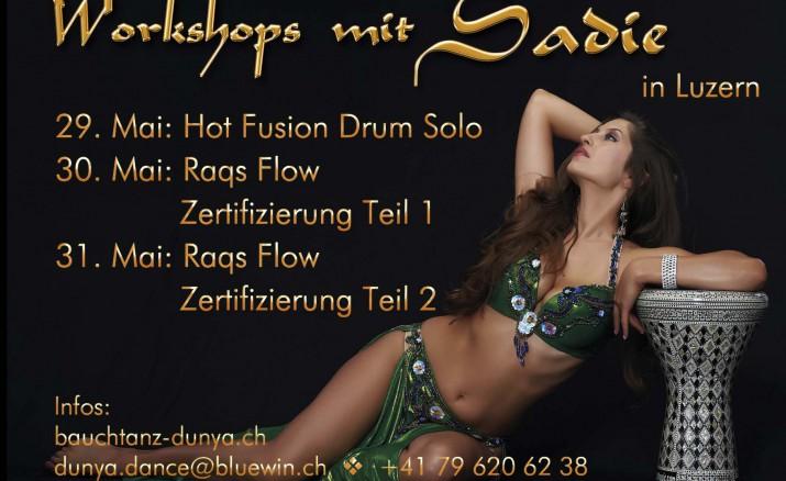 Workshop mit Sadie: HOT FUSION DRUM SOLO