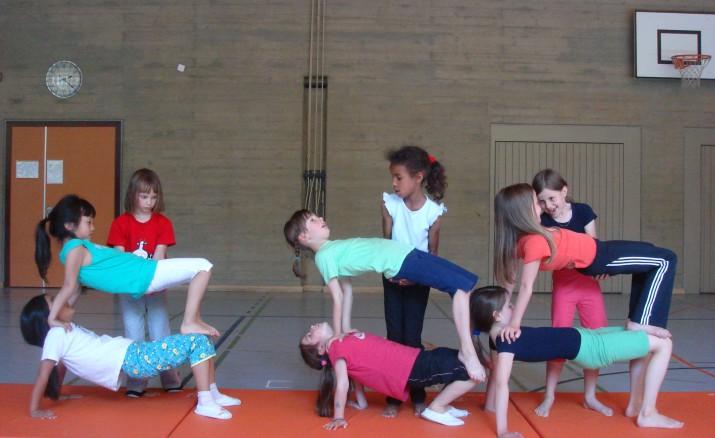 Akrobatik-Workshop für Kinder 11-15 Jahre