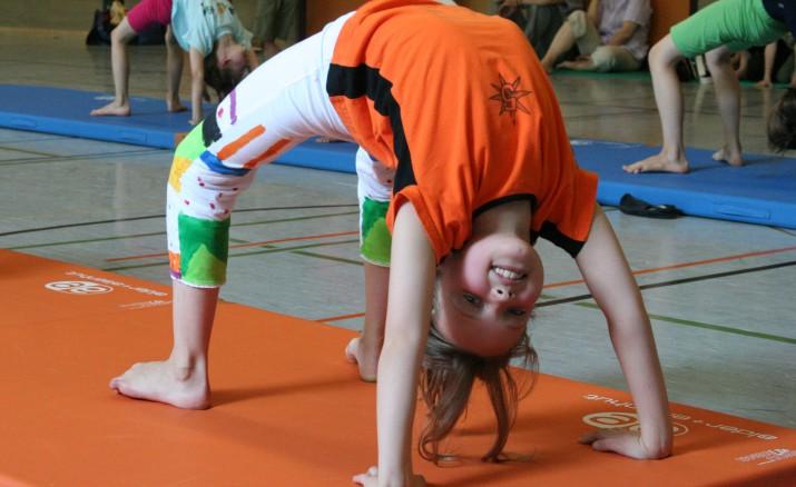 Akrobatik-Workshop für Kinder 6-10 Jahre