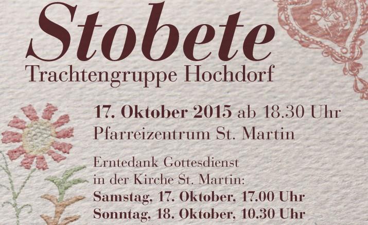 Stobete der Trachtengruppe Hochdorf