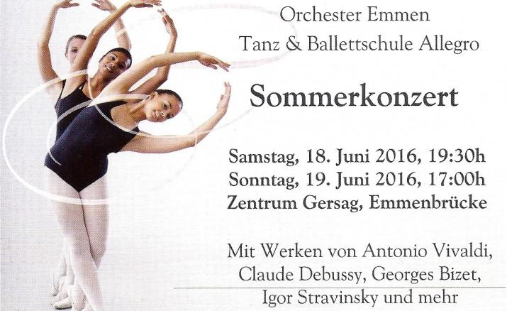 Tanzshow mit Live-Orchester