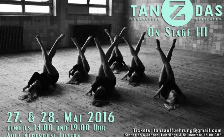 tanZdas on stage III