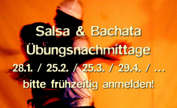 Salsa & Bachata Übungsnachmittag