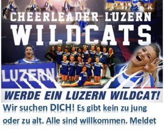 Wildcats Cheerleader Luzern