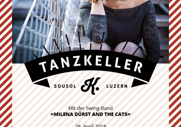 Tanzkeller mit der Swing-Band «Milena Dürst and the Cats»