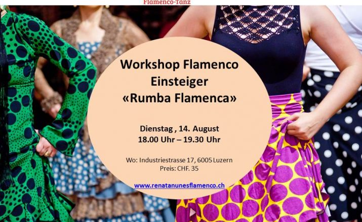 Summer Flamenco Workshop (90 min Lektion)