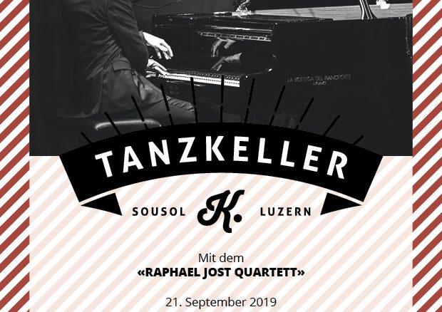 Tanzkeller mit dem Raphael Jost Quartett
